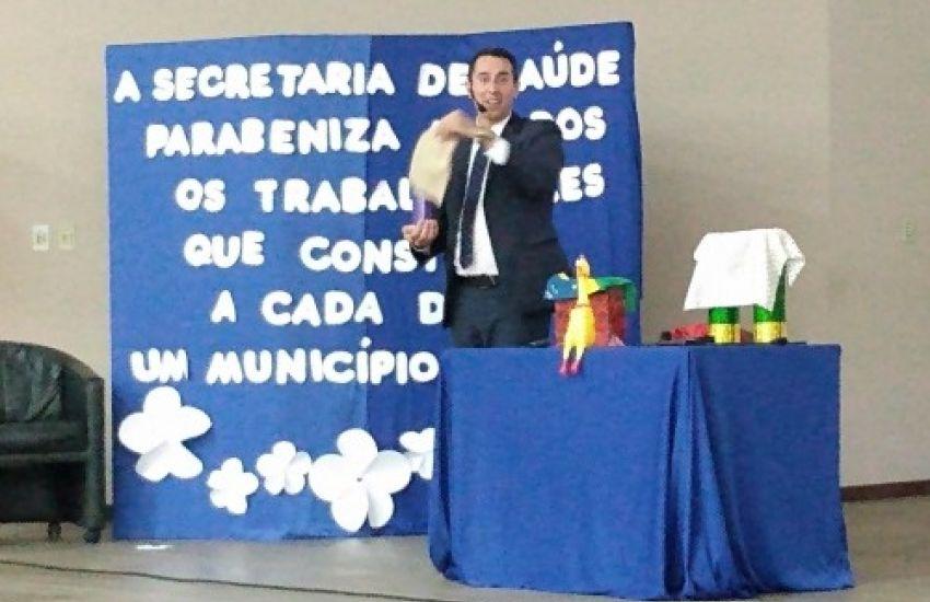Secretaria De Saúde De Dom Feliciano Promove Palestra